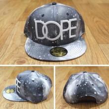Topi Snapback Dope Galaxy Grey