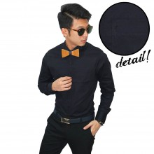 Kemeja Formal Executive Black