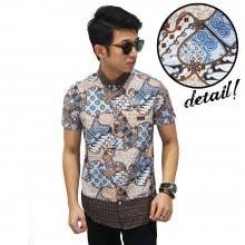 Kemeja Short Batik Paoman Casual