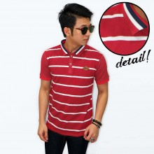 Polo Body Big Stripe Red
