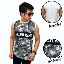 Tank Top Killer King Skull