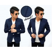 Blazer Nylon Fashion Navy