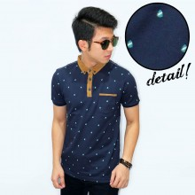 Polo Shield Pattern Navy