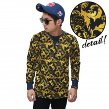 Sweatshirt Leaf Gold