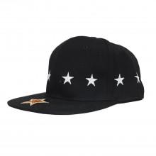 Topi Snapback Stars Circle Black