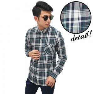 Kemeja Flanel Ancient Tartan Dark Green