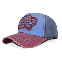 Topi Two Tone Text Blue
