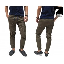 Jogger Pants Chino Basic Kakkoii Dark Green