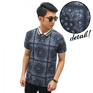 Polo Square Tribal Black