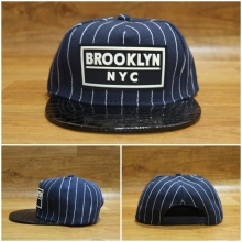 Topi Snapback Brooklyn NYC Navy