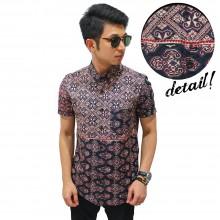 Kemeja Short Classic Batik Ethnic