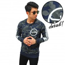 Sweater Camouflage Arabic Typography
