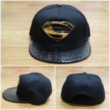 Topi Snapback Man Of Steel Leather