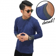Sweatshirt Cool Plain Navy