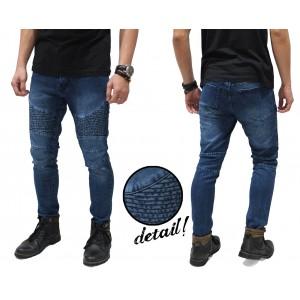 Biker Jeans Maskulin Blue
