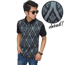 Polo Batik Casual Pattern