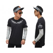 Double Layer T-Shirt Stay True