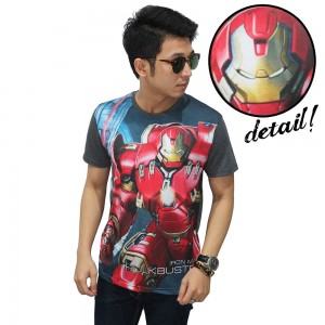 Kaos Superheroes Iron Man Hulkbuster Dark Grey