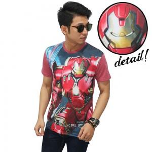 Kaos Superheroes Iron Man Hulkbuster Soft Red