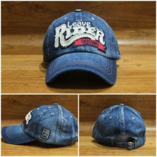 Topi Denim Leave Rider Blue