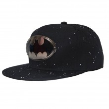 Topi Snapback Batman Paint Splash Black