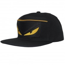 Topi Snapback Fendi Monster Zipper Black