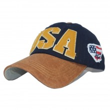 Topi USA Flag Navy