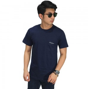 Basic T-Shirt With Pocket Navy