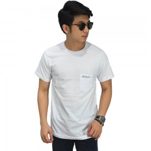Basic T-Shirt With Pocket White