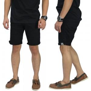 Celana Pendek Chino With List Black