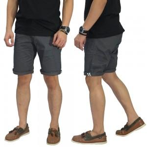 Celana Pendek Chino With List Grey