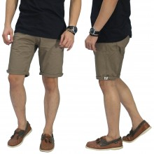 Celana Pendek Chino With List Mocha