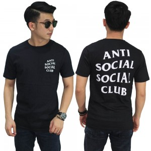 Kaos Anti Social Social Club Black