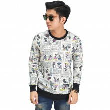 Sweatshirt Micky Mouse Comic