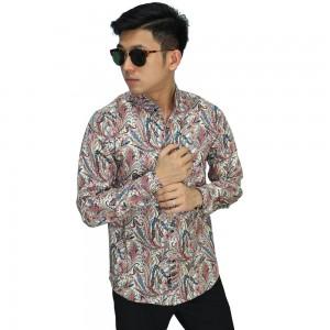 Kemeja Batik Ethnic Leaf