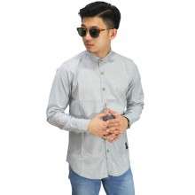 Kemeja Formal Basic Soft Grey