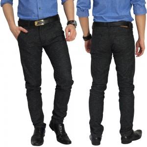 Celana Formal Chino Wool Black