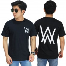 Kaos Alan Walker Front And Back Black