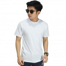 Kaos Polos Pendek O-Neck Putih