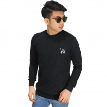Sweatshirt Alan Walker Bordir Black
