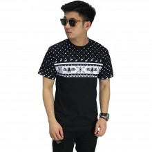 Kaos Half Tribal Polkadot Black