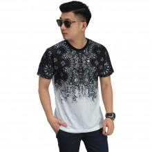 Kaos Printing Batik Gradation