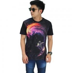 Kaos Printing Galaxy Surf Black
