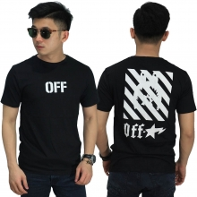 Kaos Off White Star Black