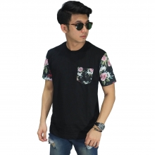 Kaos Sleeve Dark Floral Black