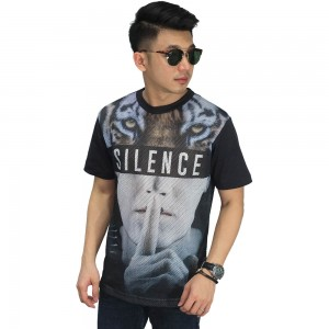 Mesh T-Shirt Silence Tiger
