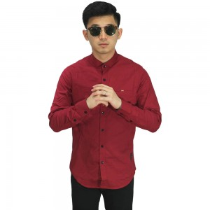 Kemeja Formal Polos Red