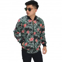 Jaket Bomber Tropical Summer