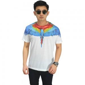 Kaos Printing Blue Wings