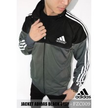 Jacket Adidas Black Grey
